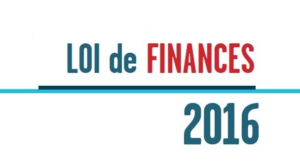Loi de finances 2016 circulaire cabinet